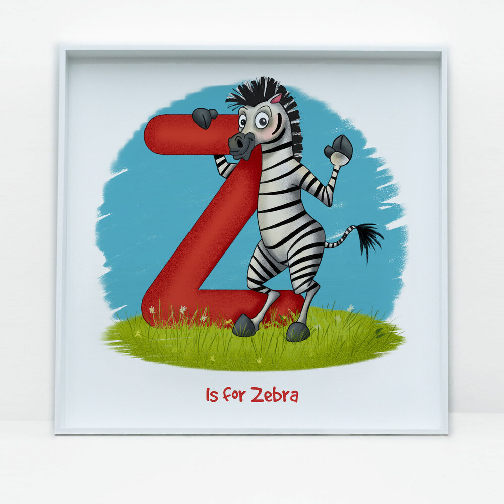 SDB Illustration_Z is for Zebra