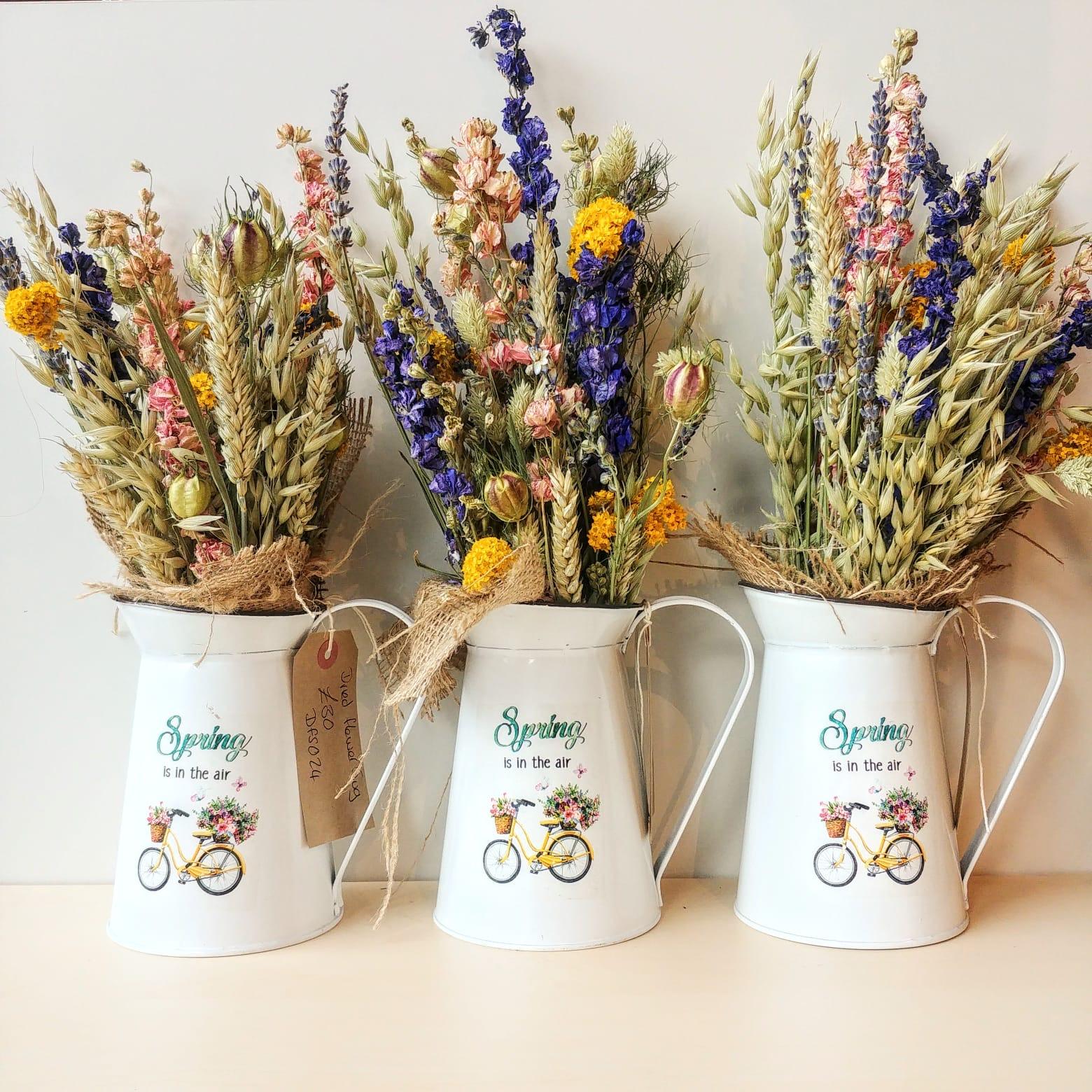 The Dried Flower Shop Flower Jug