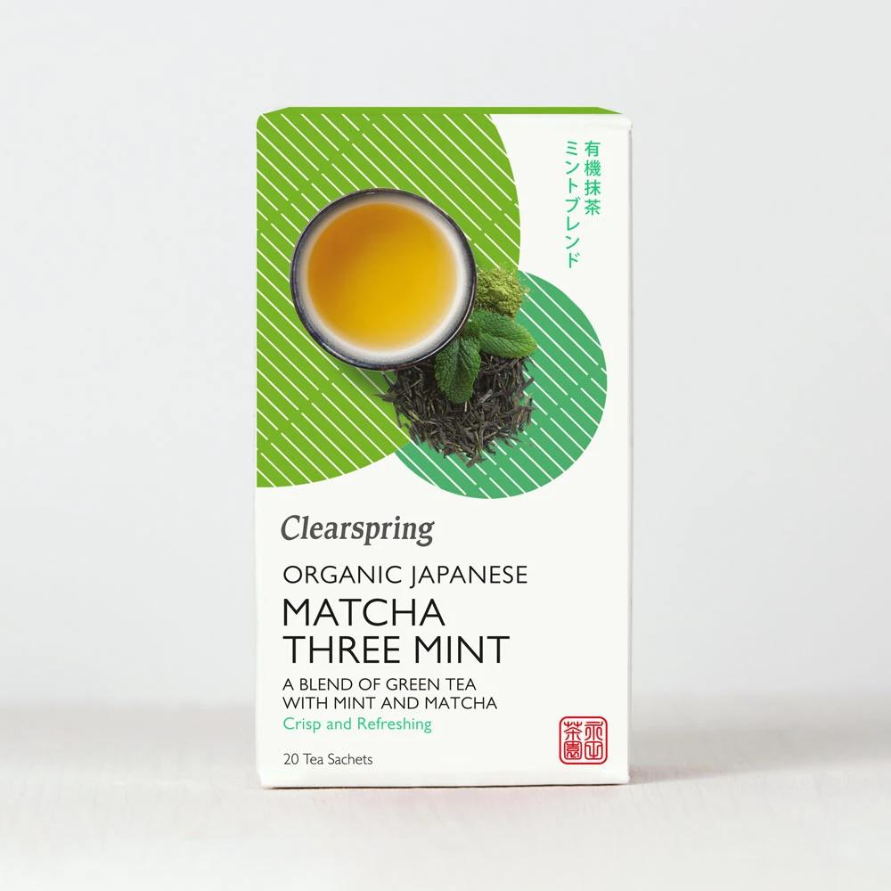 Clearspring Matcha Three Mint Tea