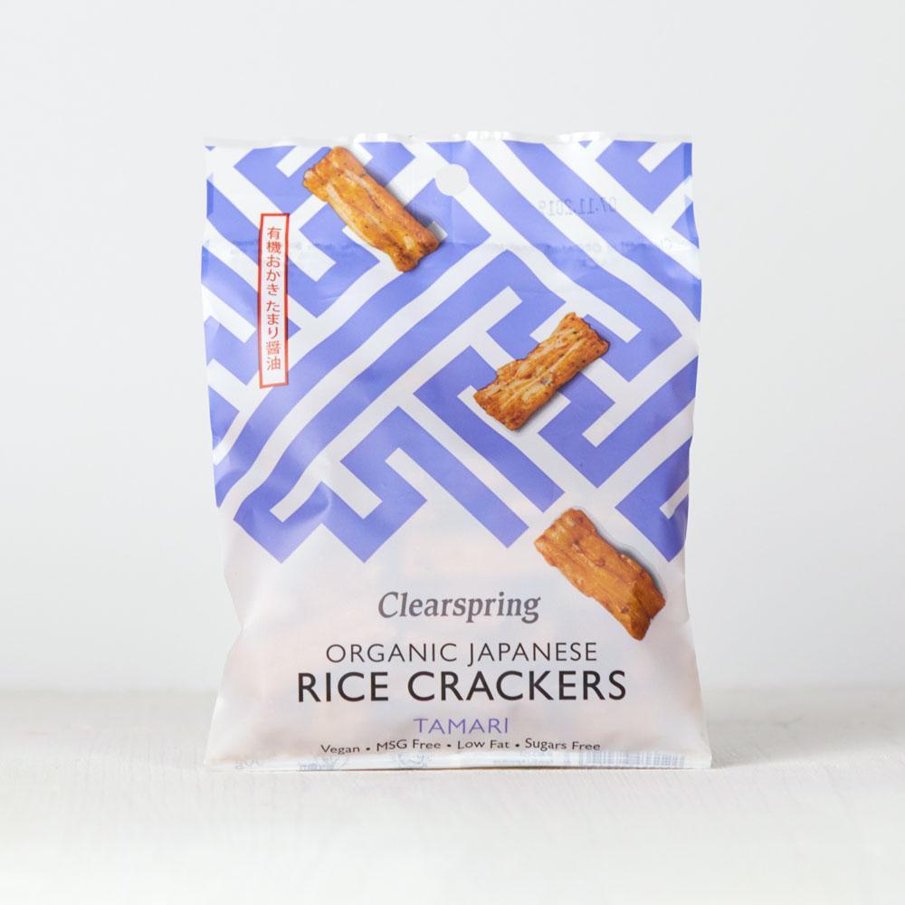 Clearspring Japanese Tamari Rice Crackers