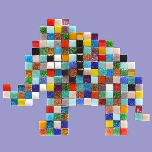 Mosaikit Elephant