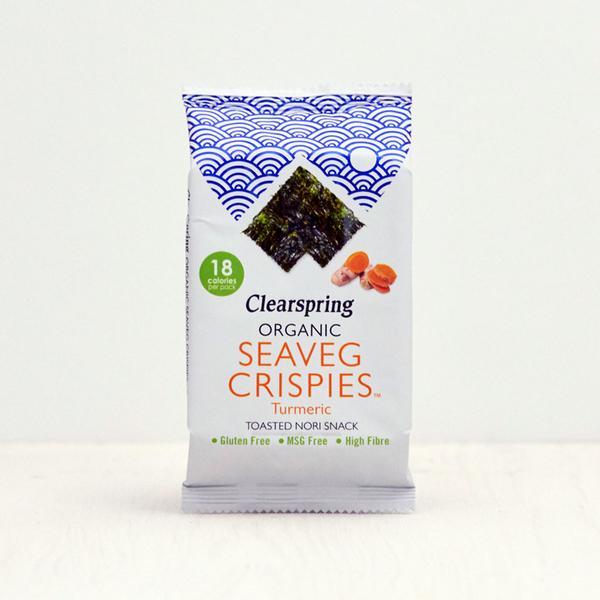 Clearspring Seaveg Turmeric Crispies