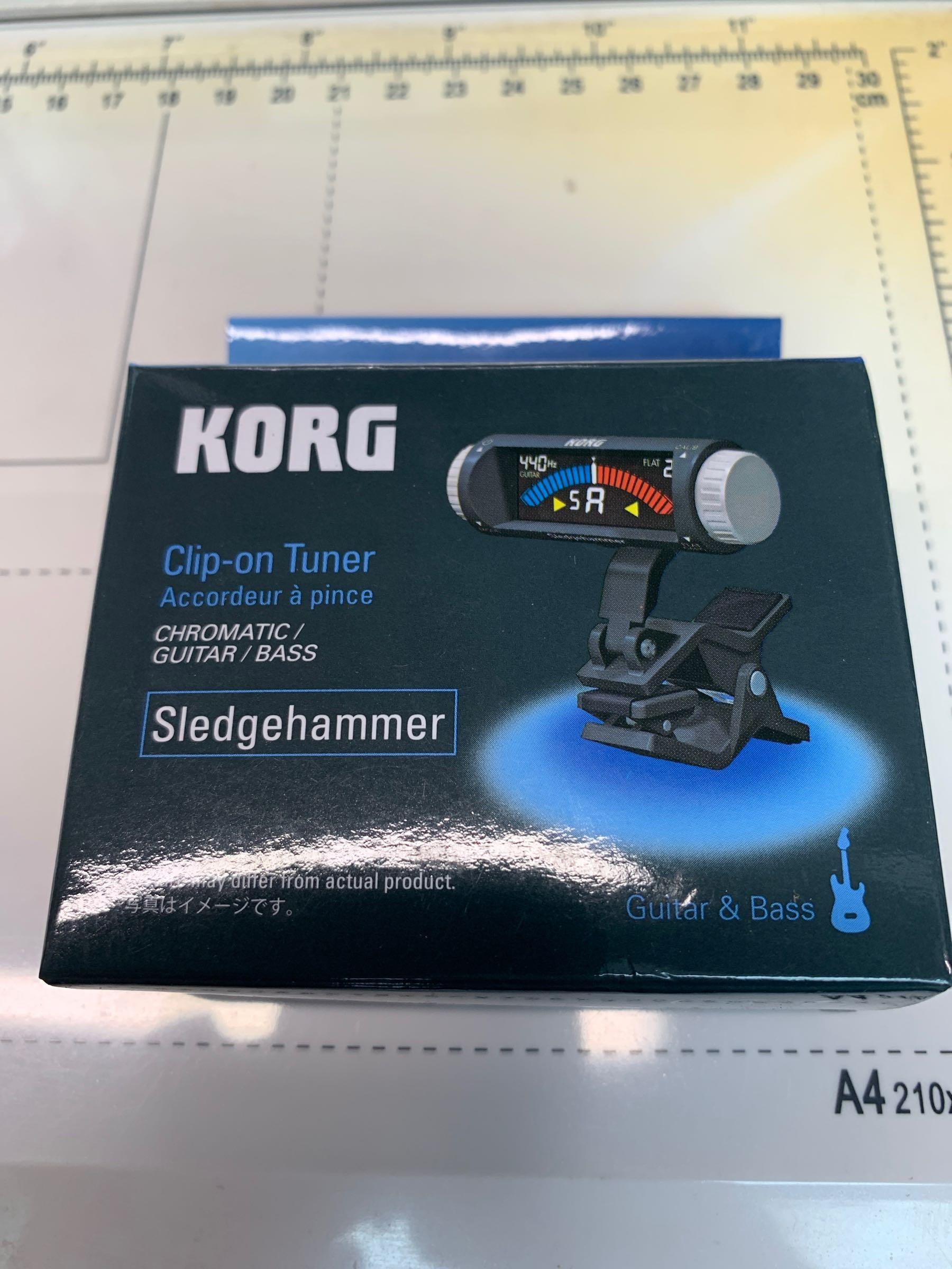 Korg Sledgehammer tuner