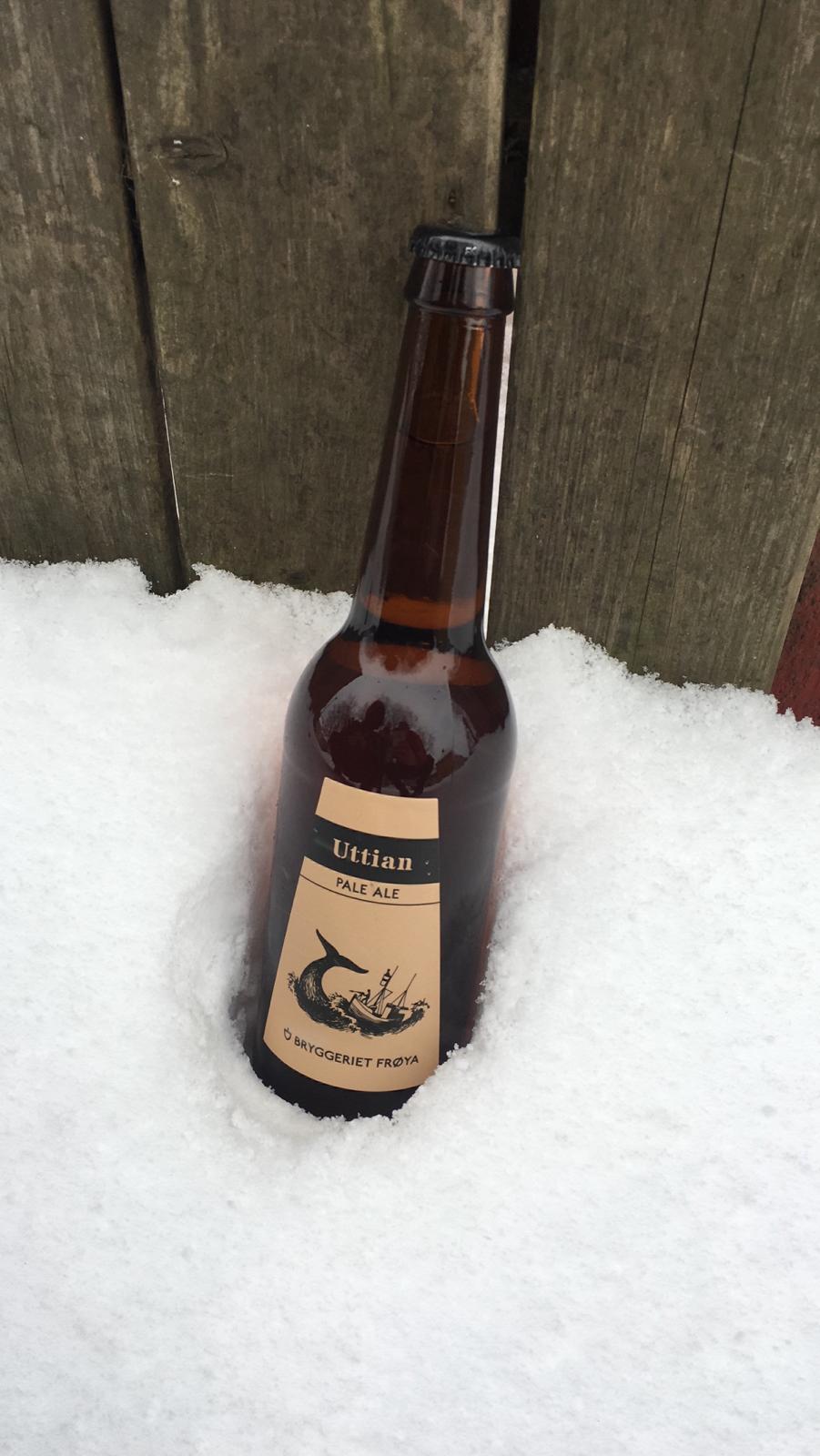 Uttian Pale Ale - Bryggeriet Frøya - 500ml