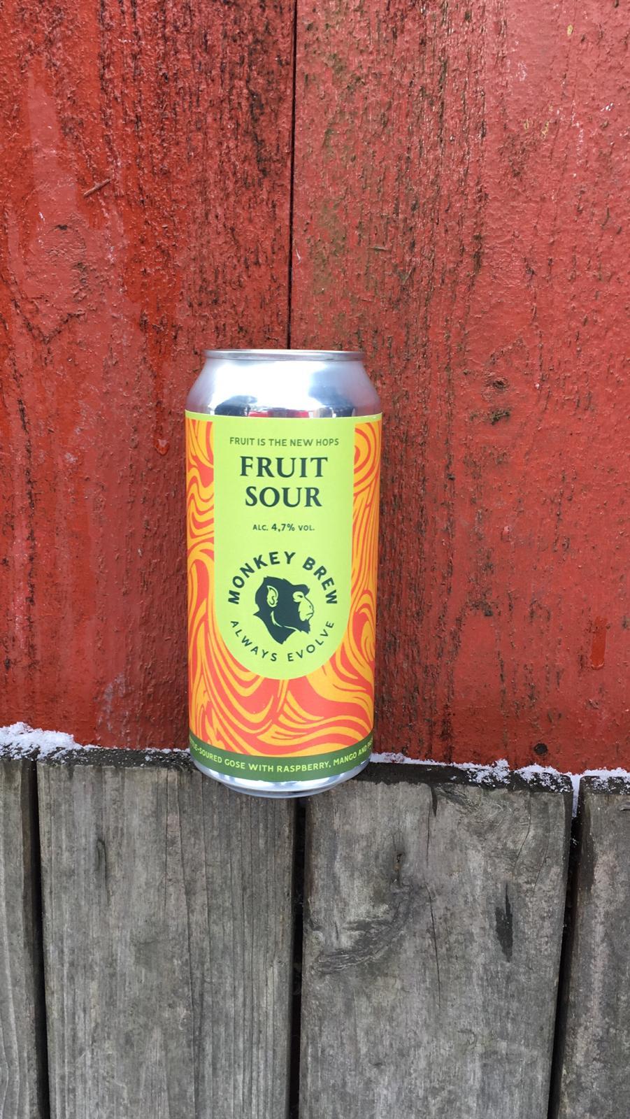 Fruit is the New Hops - Monkey Brew - 440ml