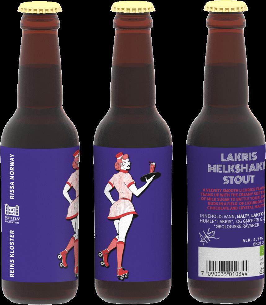 Lakris - Melkshake Stout - 330ml