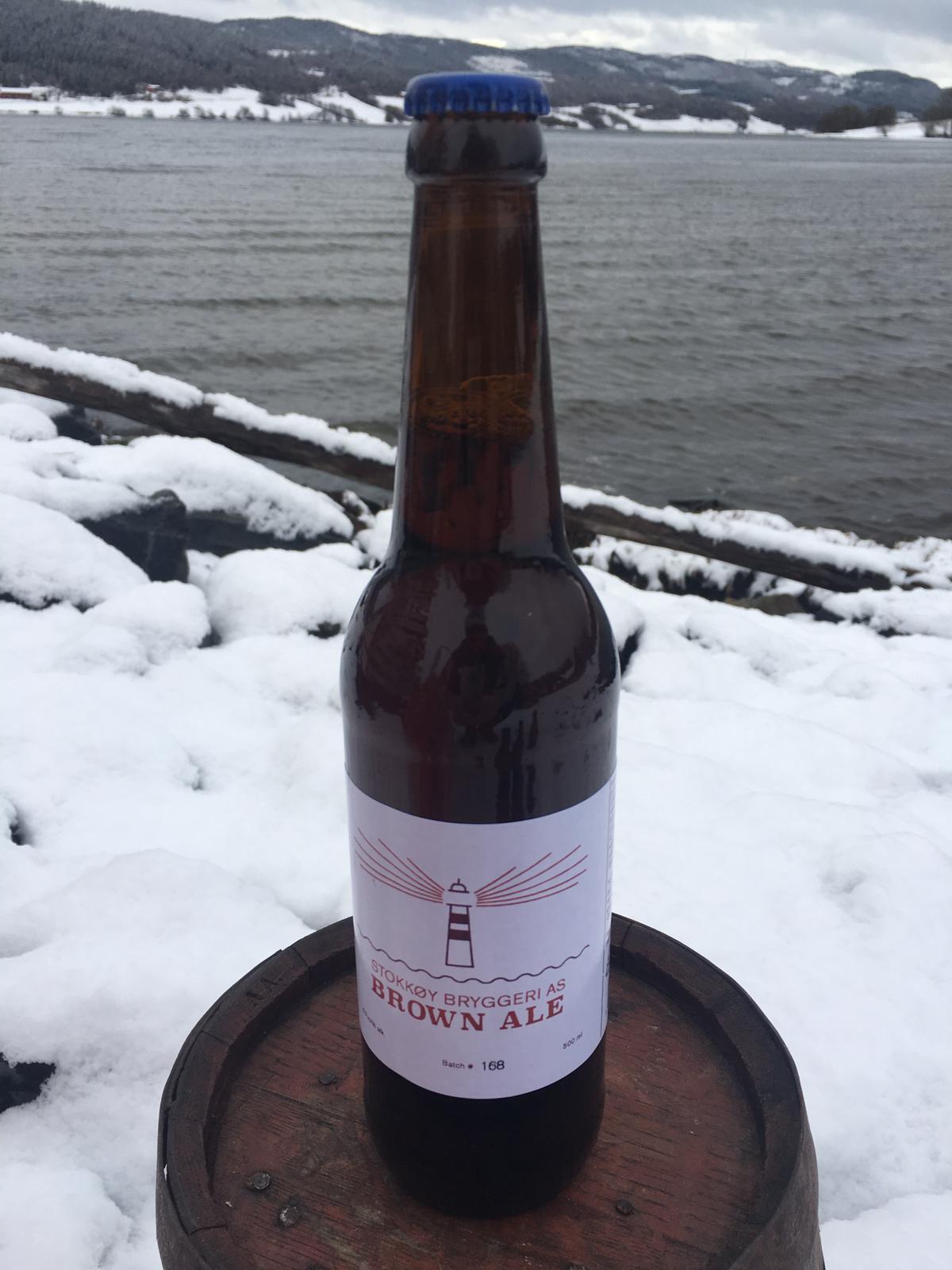 Brown Ale - Stokkøy Bryggeri - 500ml