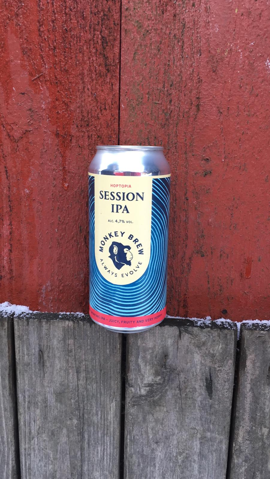 Session IPA - Monkey Brew - 440ml