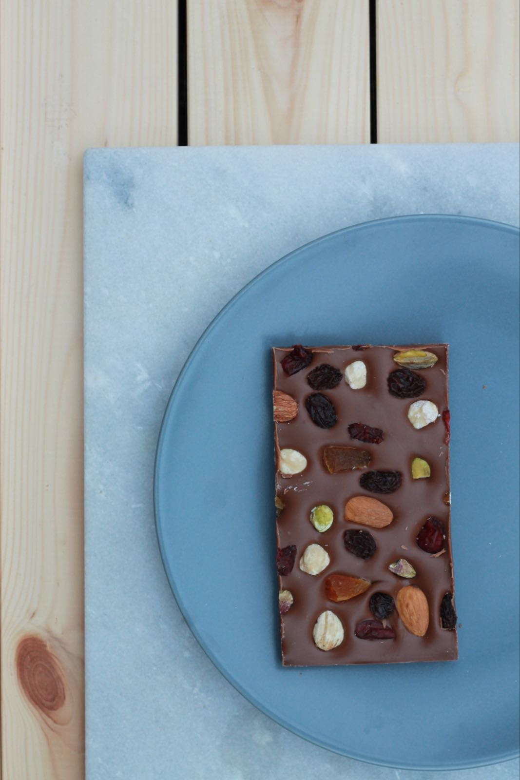 Milk Chocolate Fruit & Nut Slab