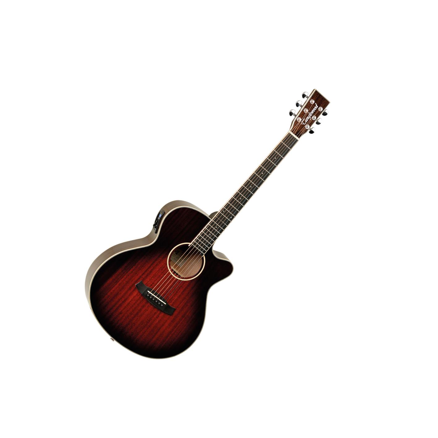 Tanglewood Winterleaf TW4-E Super Folk Antique Violin Burst