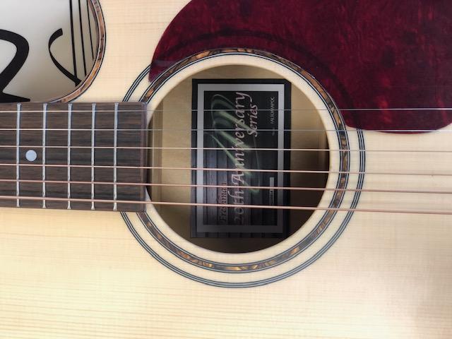 Freshman 20th Anniversary Limited Edition Maple Electro Acoustic FALTDMAPOC
