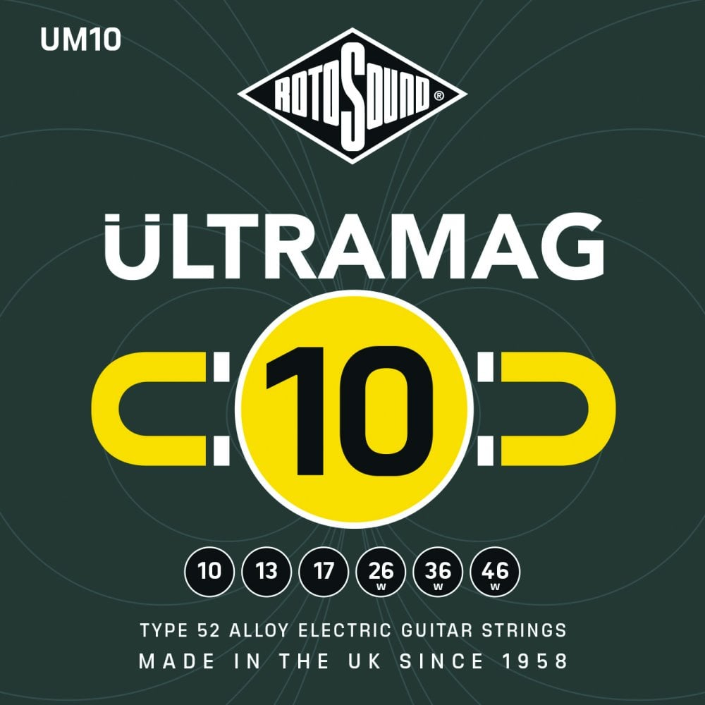 Rotosound Ultramag Electric Guitar String (Various Gauges)
