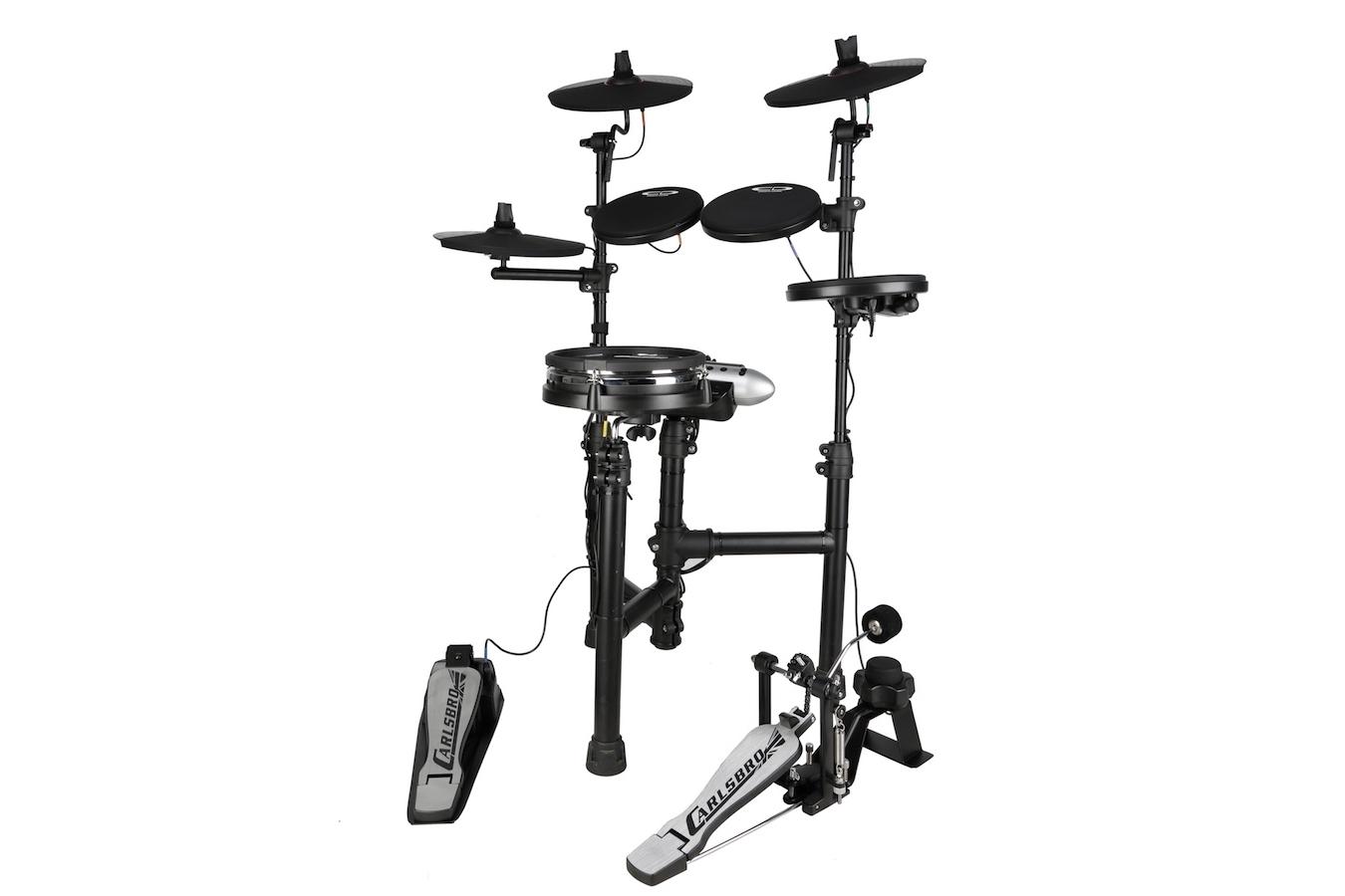 Carlsbro CSD130M Compact Electric Drum Kit w/ Mesh Snare