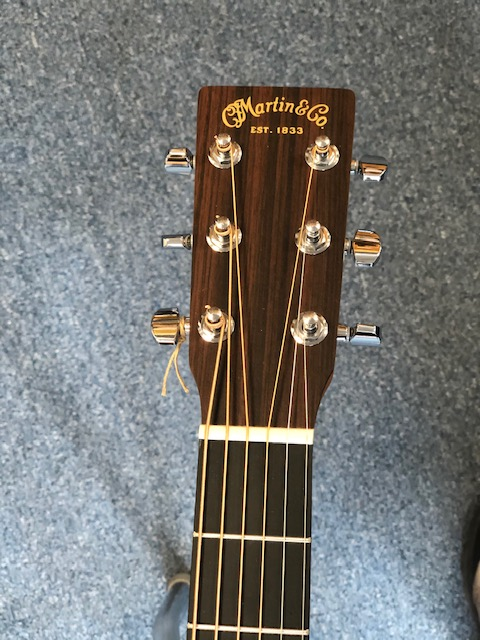 Martin D10-E Dreadnaught Electro Acoustic w/ Deluxe Gig Bag