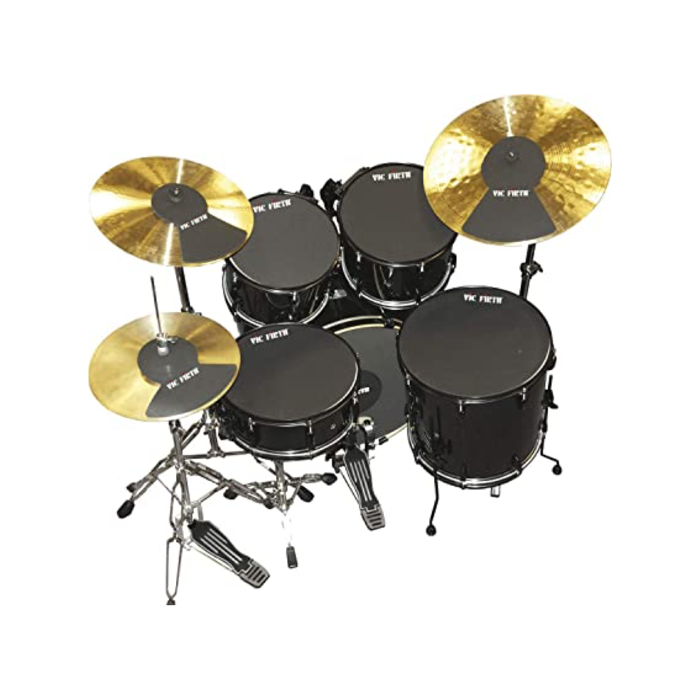 Vic Firth MUTEPP6 Drum Mute Pack (Rock Fusion Sizes)