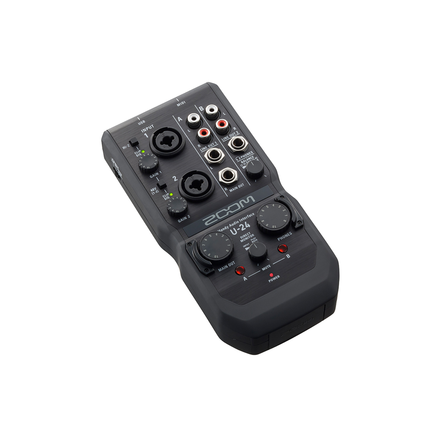 Zoom U-24 Audio Interface