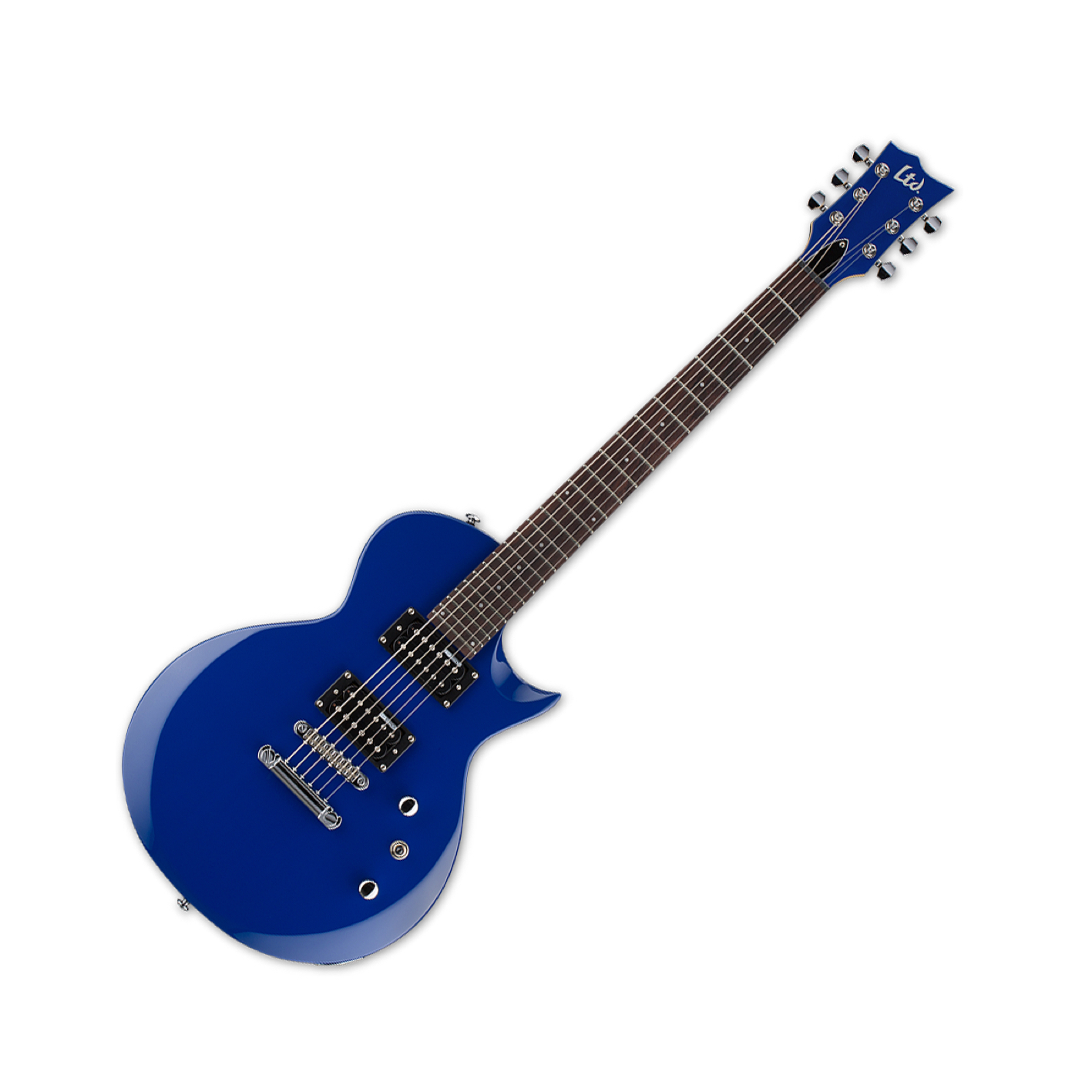 LTD EC-10 KIT electric guitar in blue with gigbag