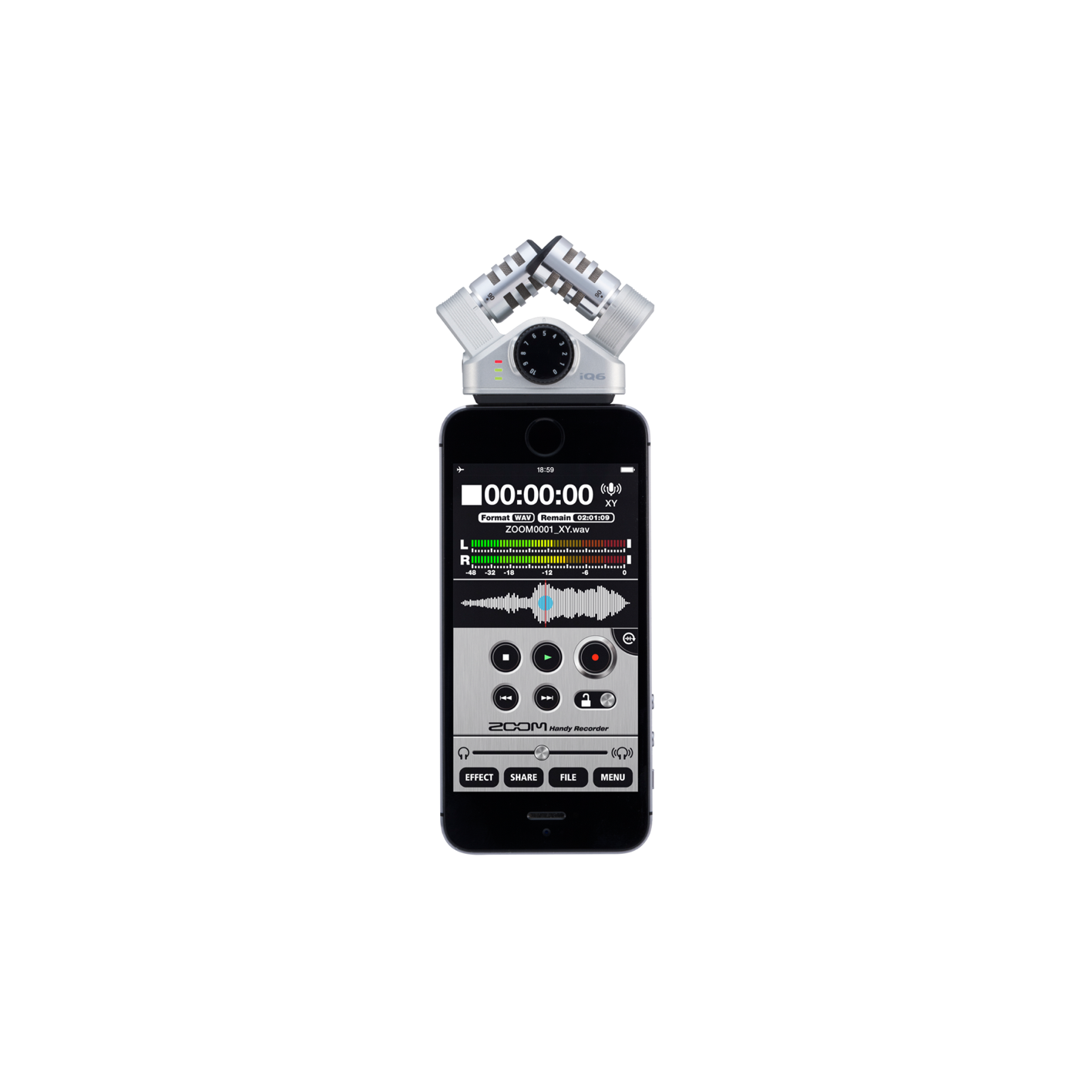 Zoom IQ6 Stereo Microphone for iOS