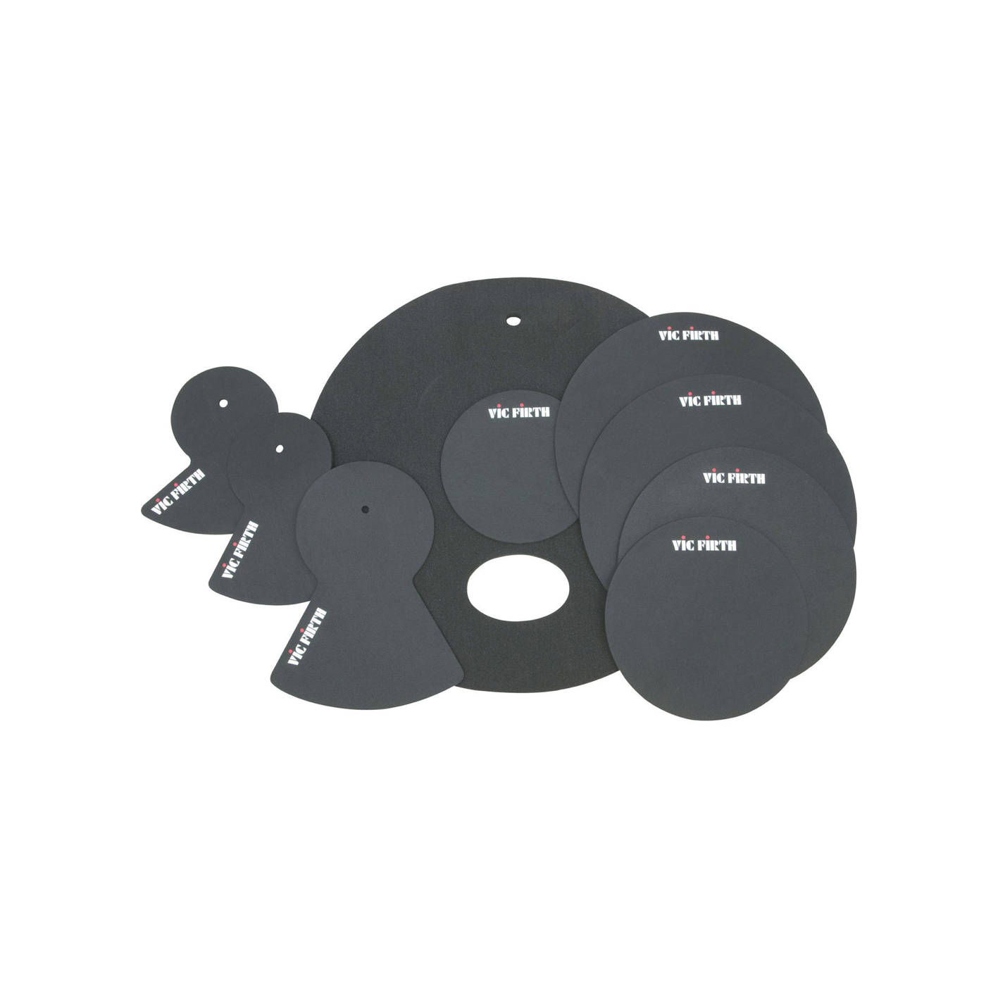 """Vic Firth MUTEPP4 Drum Mute Pack (22"""" Fusion Size)"""