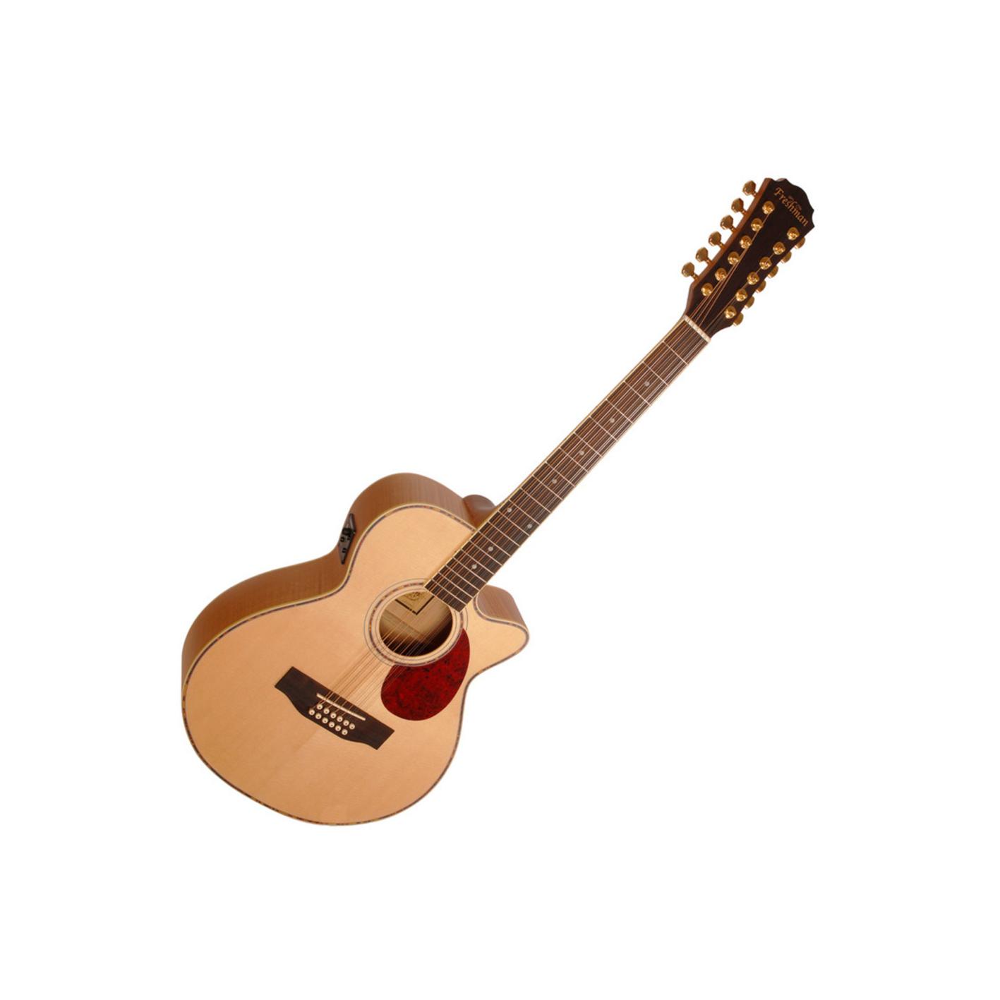 Freshman FA1AM12 Maple 12 String Electro Acoustic w/ Gig Bag (Second Hand)