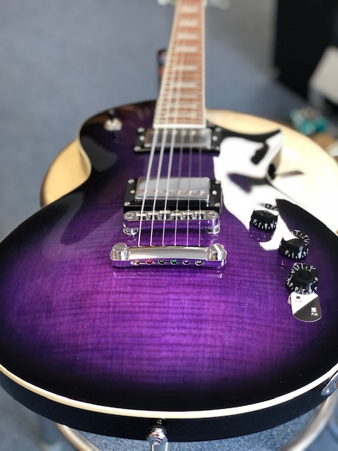 LTD EC-256fm See Thru Purple