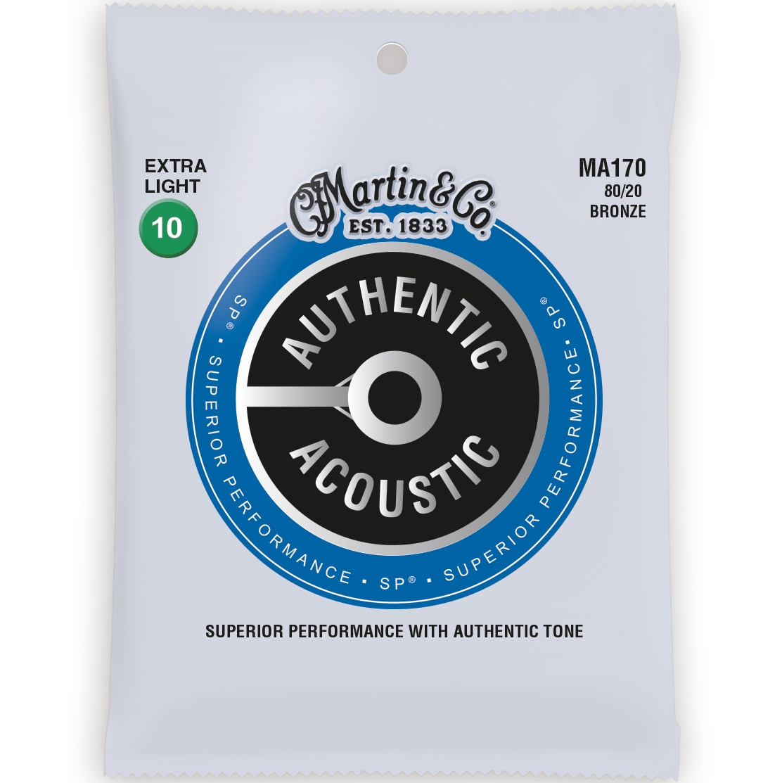 Martin Authentic Acosutic SP Acoustic Guitar Strings