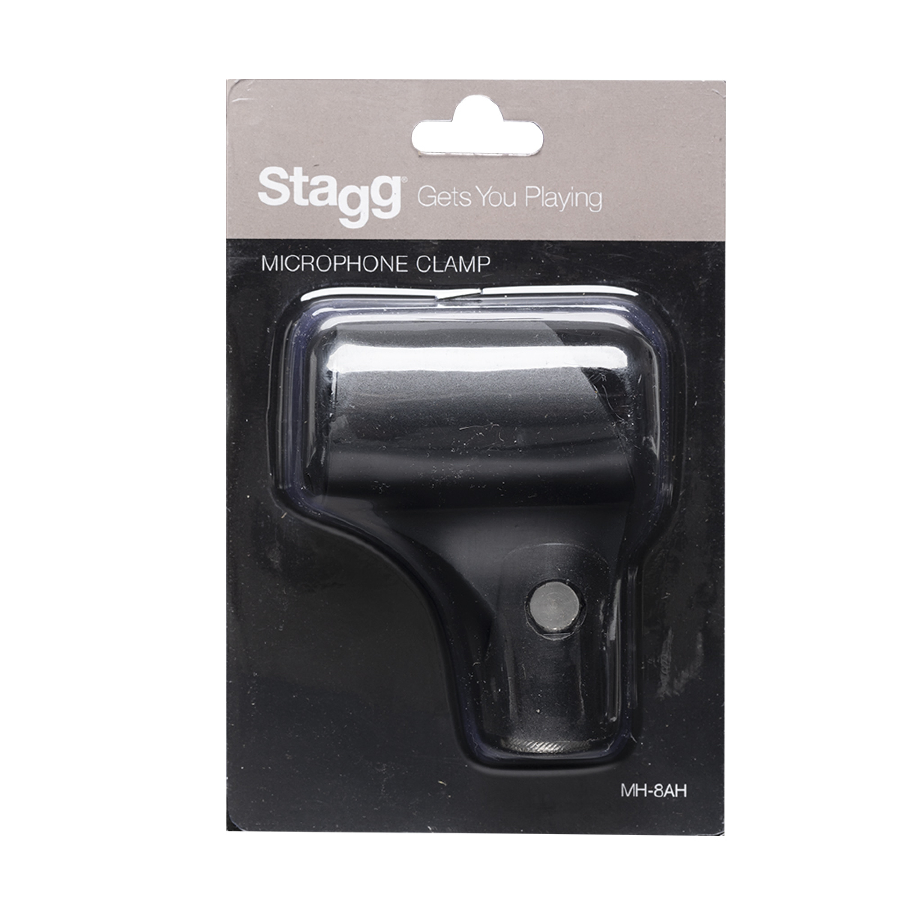 Stagg MH-8AH Mic Clamp-Rubber-Black