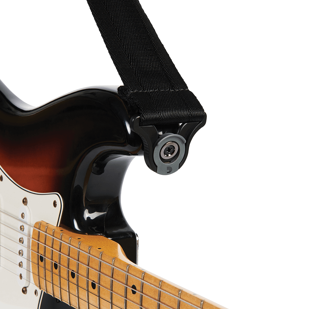 D'addario Autolock Strap (Various Colours)