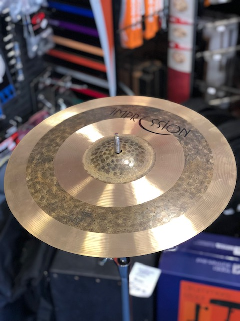 "Impression 15"" rock crash cymbal"