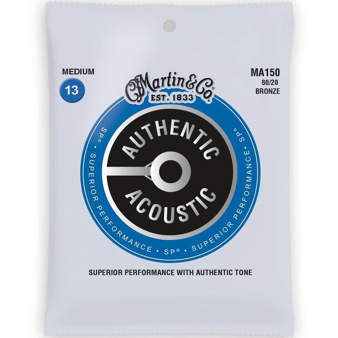 Martin Authentic Acosutic SP Acoustic Guitar Strings
