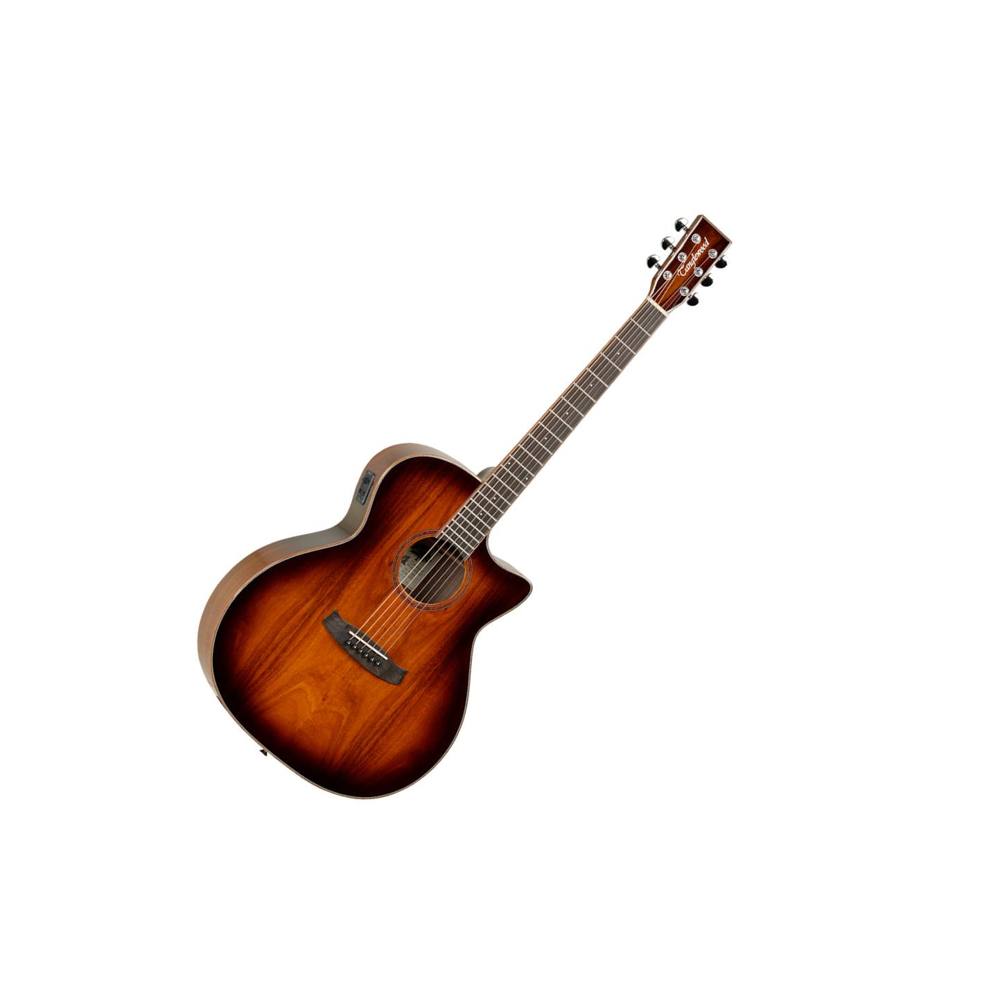 Tanglewood Winterleaf Exotic TW4E-VC-Koa Venetian Cutaway Electro Acoustic
