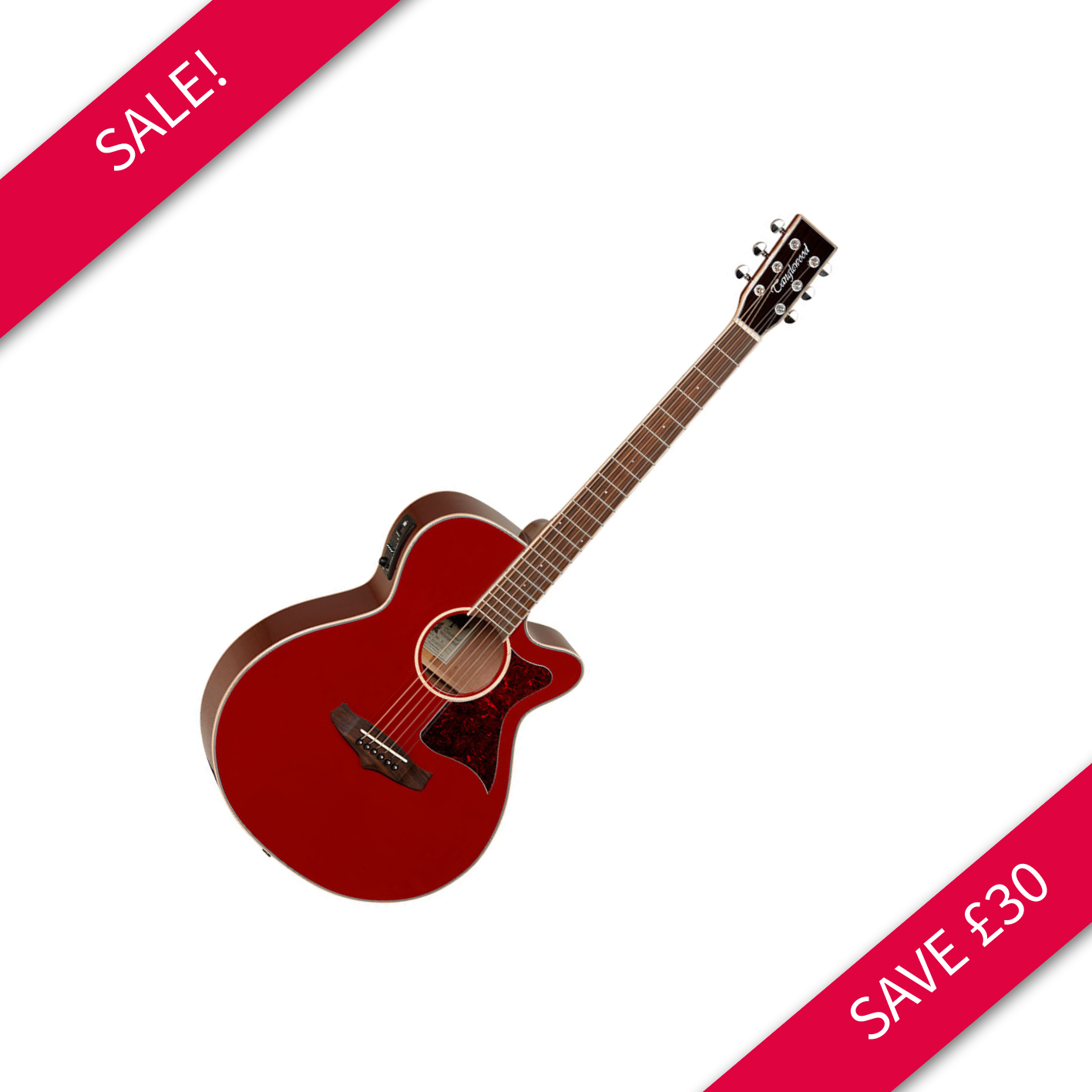 Tanglewood Winterleaf TW4R Electro Acoustic Red
