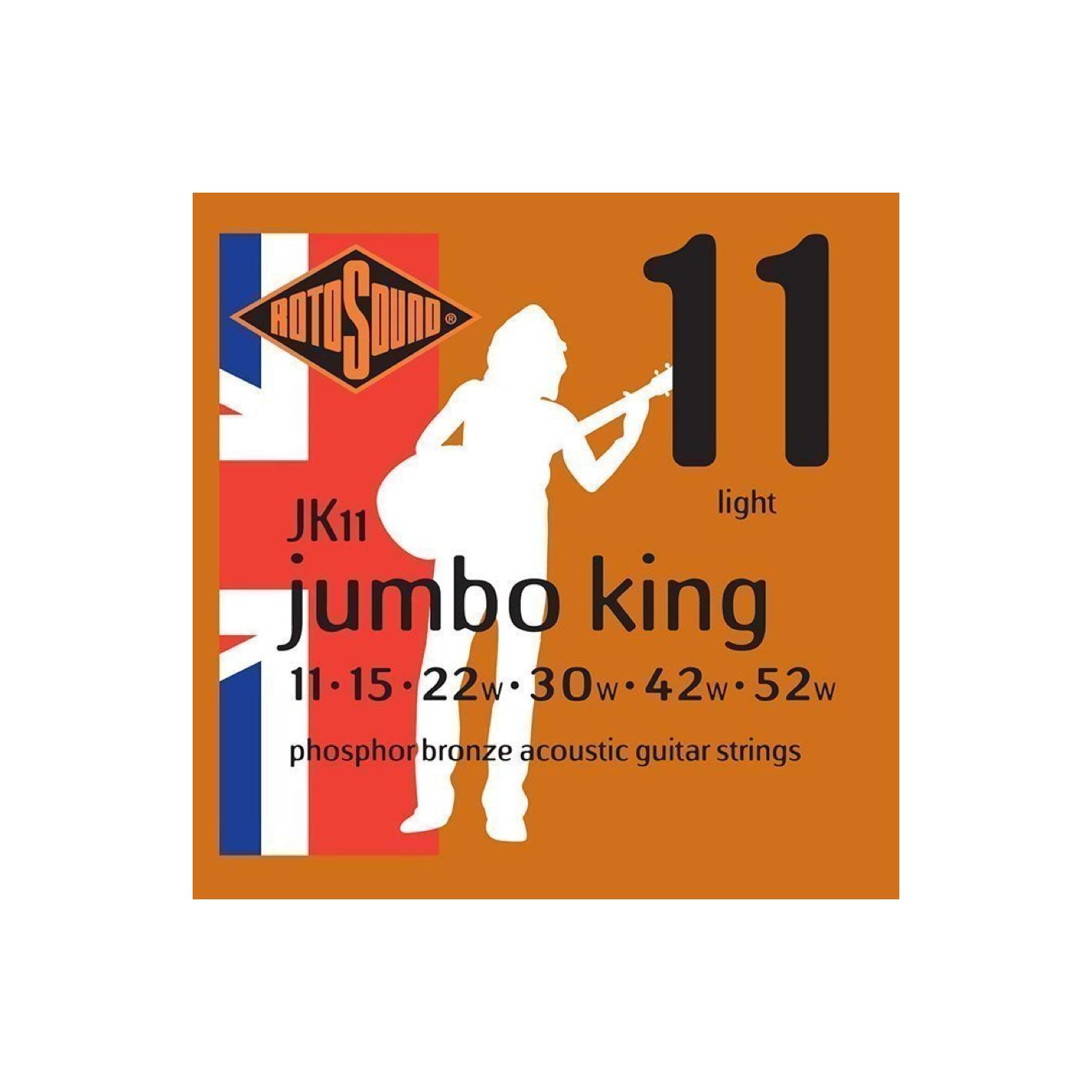 Rotosound Jumbo King Phosphor Bronze Acoustic Strings