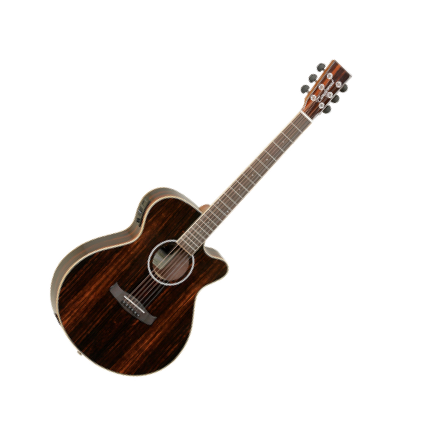 Tanglewood DBT-SFCE-AEB Discovery All Exotic Ebony