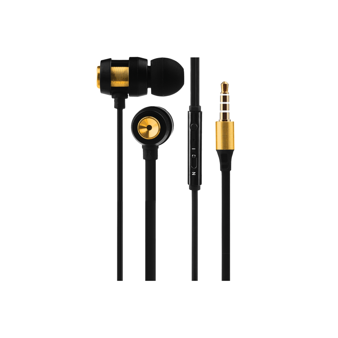 Volkano VK-1007 Alloy Series Earphones w. Microphone (Various Colours)