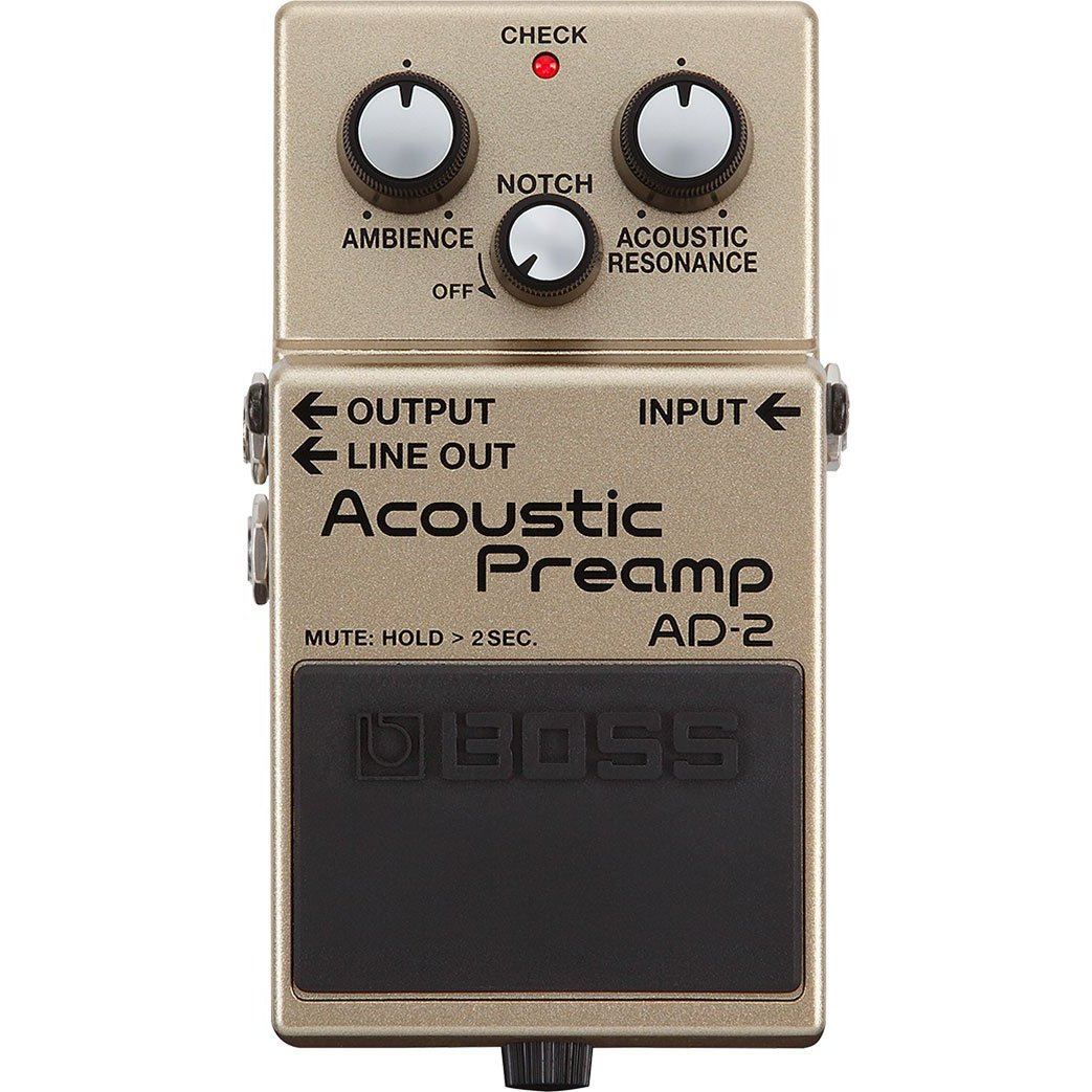 Boss AD 2 ACOUSTIC PRE-AMP GUITAR PEDAL