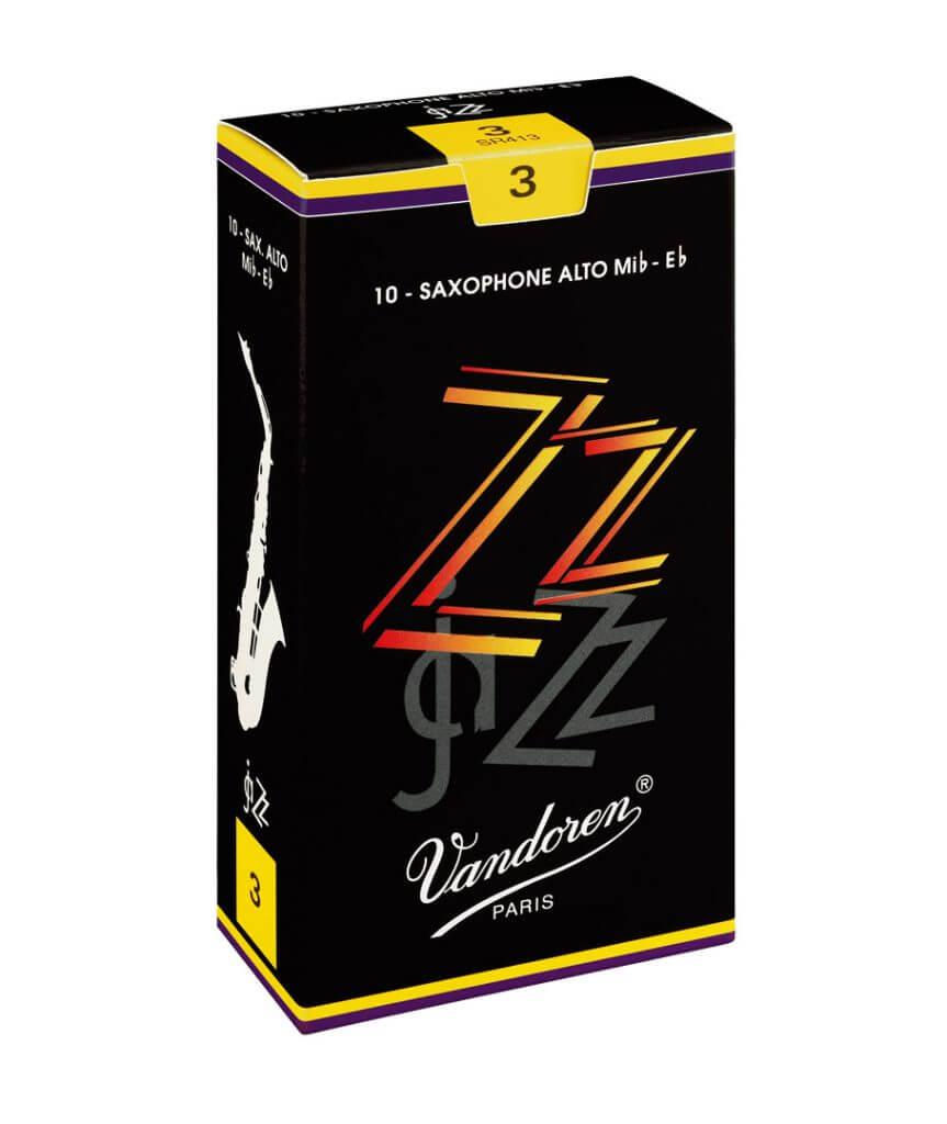 Vandoren ZZ Jazz Alto Sax Reeds