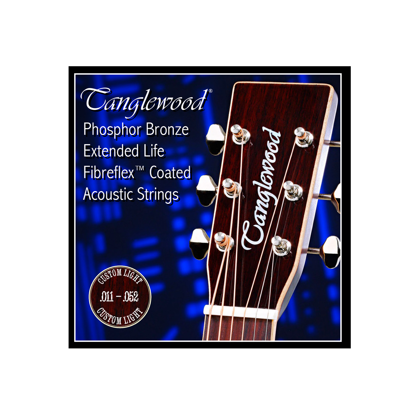 Tanglewood TWGS Coated Guitar Strings (Various Gauges)