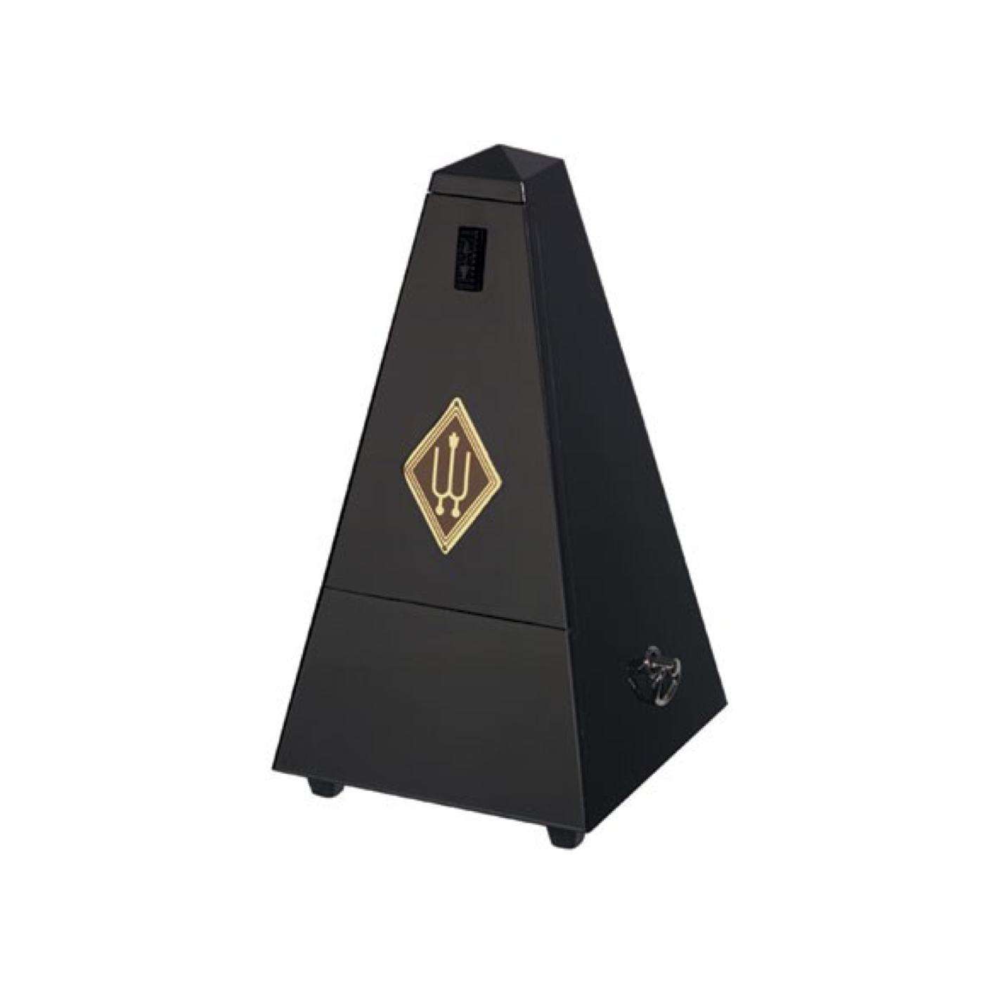 Wittner 845B Wooden Metronome without Bell Black