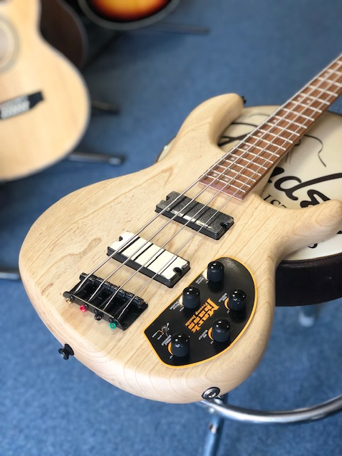 Cort Action Bass Deluxe AS Open Pore