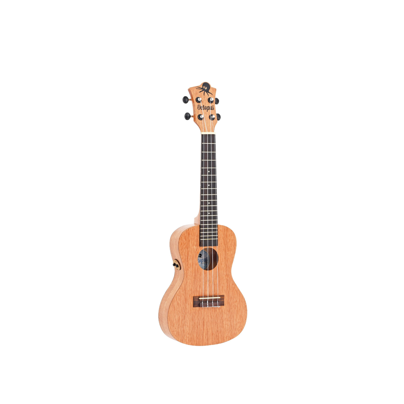 Octopus UK215CE-NAT Electro Concert Uke w/ Bag