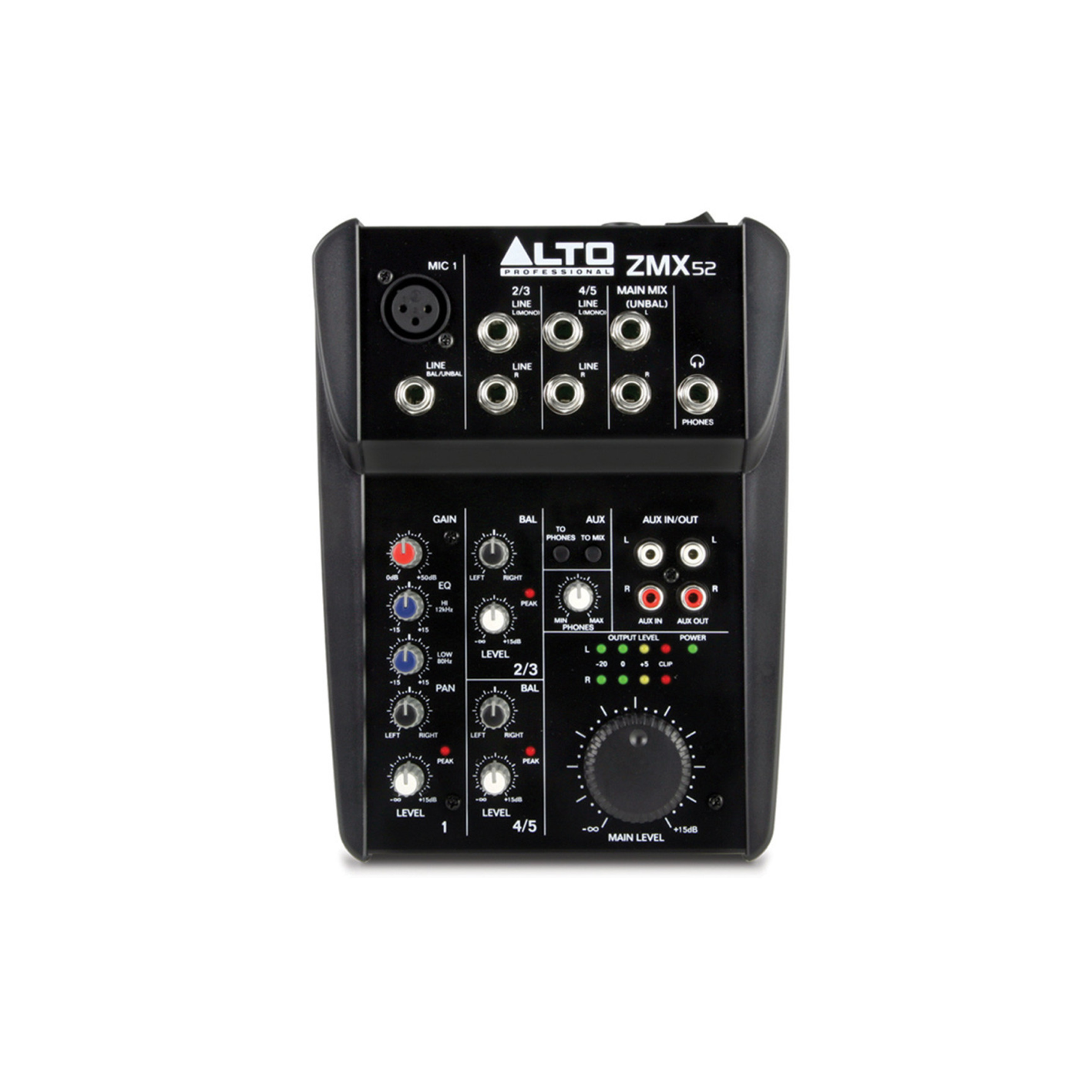 Alto ZMX-52 5 Channel Mini Mixer (Second Hand)