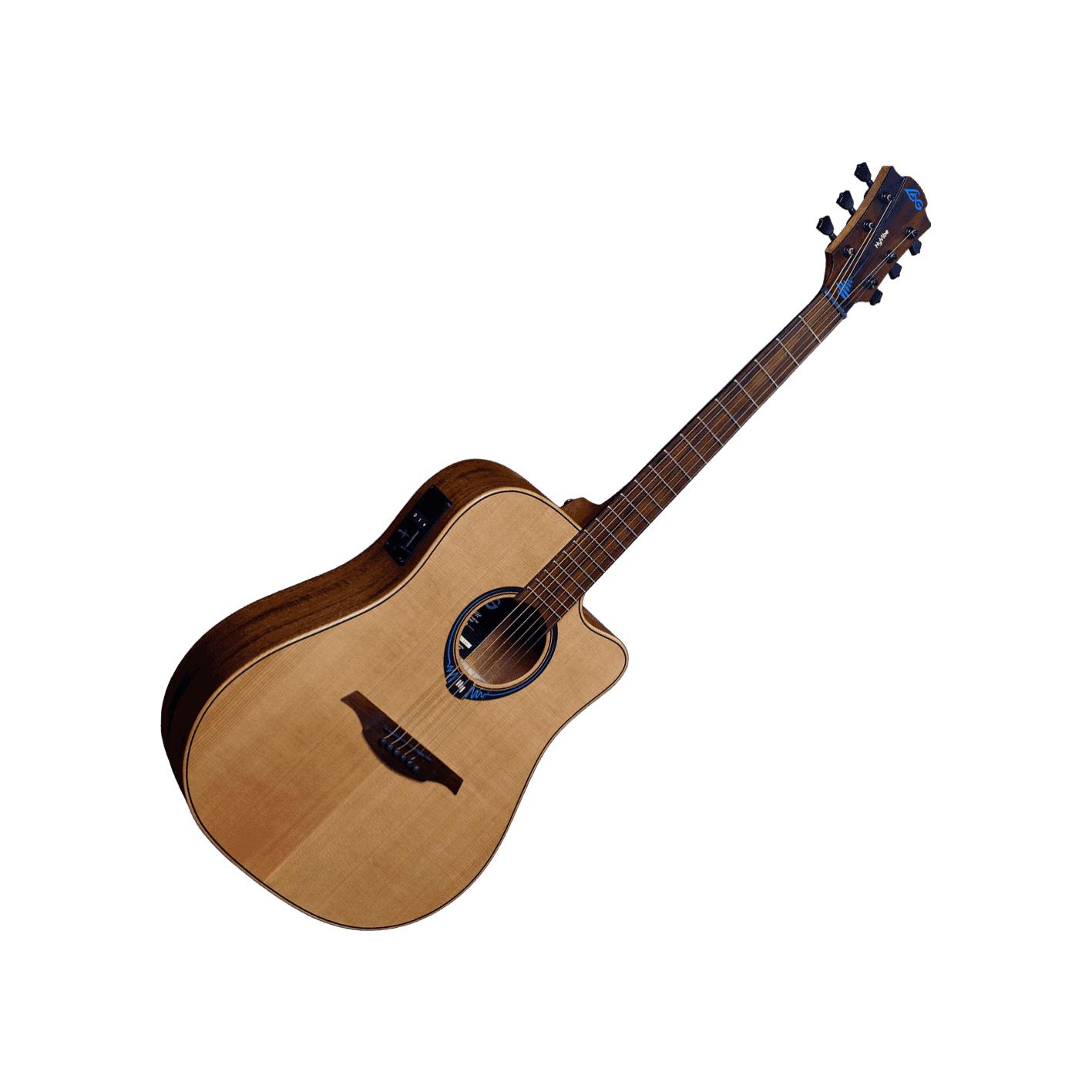 Lag HyVibe THV-10DCE Smart Guitar w/ Gig Bag