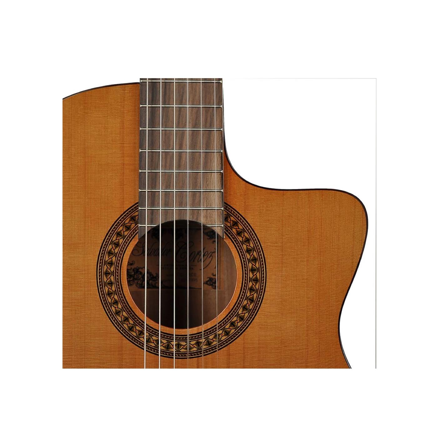 Salvador Cortez CC-22CE Artist Series Electro Classical Guitar