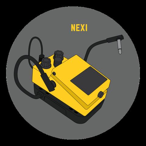 ConNEXI pedal adapter for NEXI pedal board