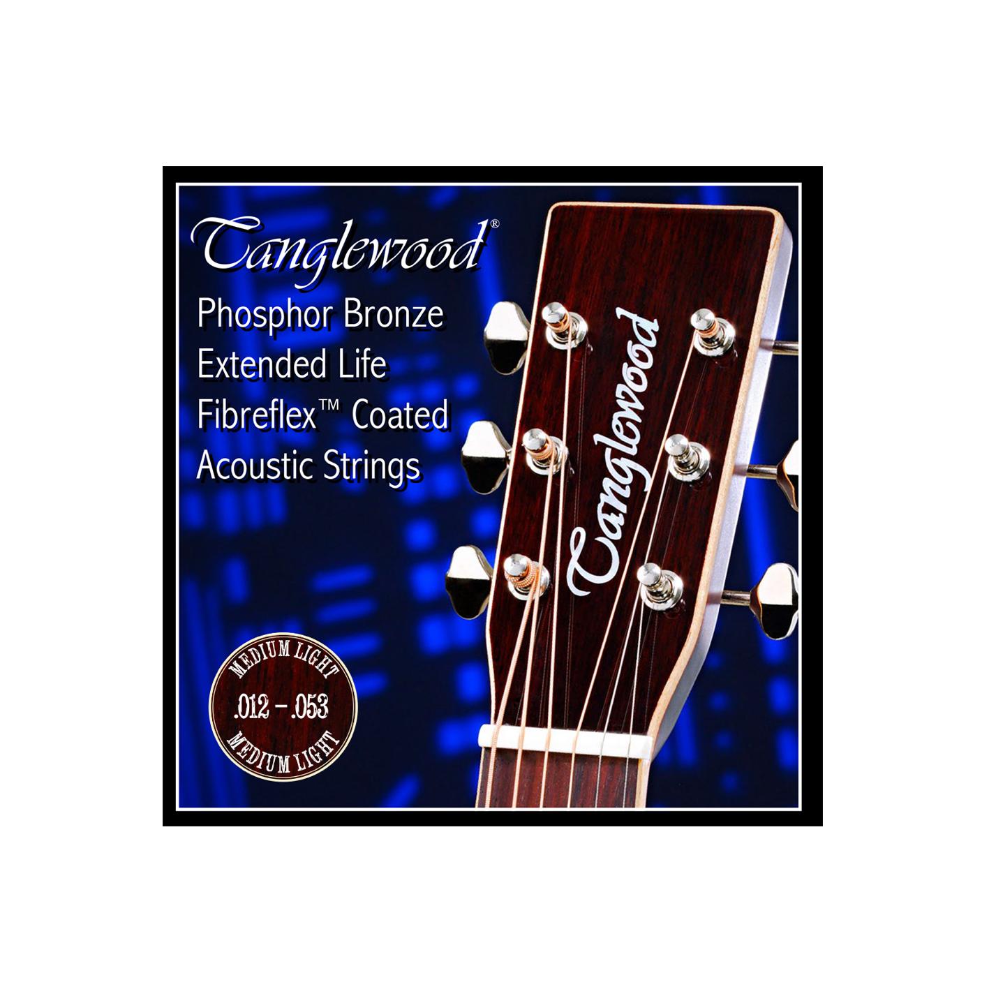 Tanglewood TWGS Coated Guitar Strings (Various Gauges)