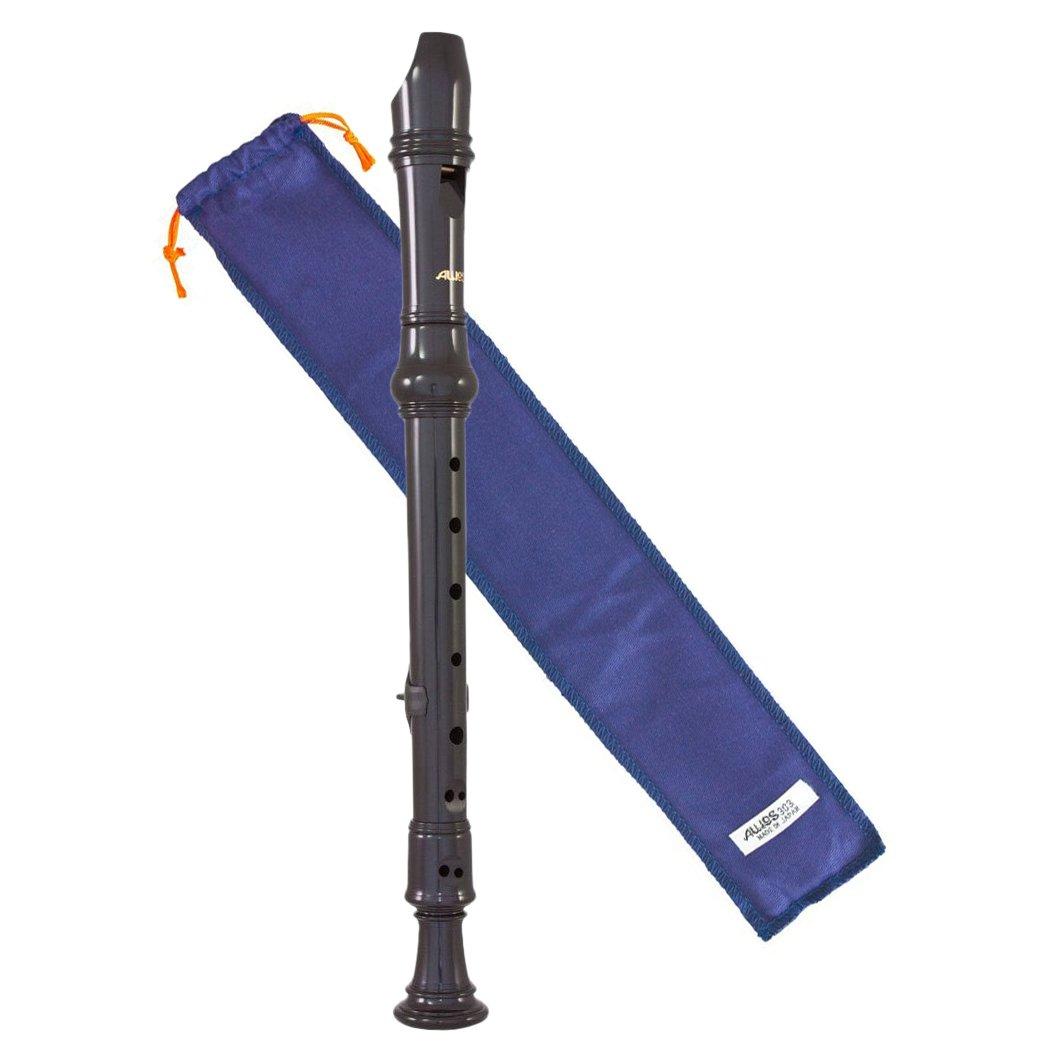 Aulos 303 Descant Recorder (Blue Bag)