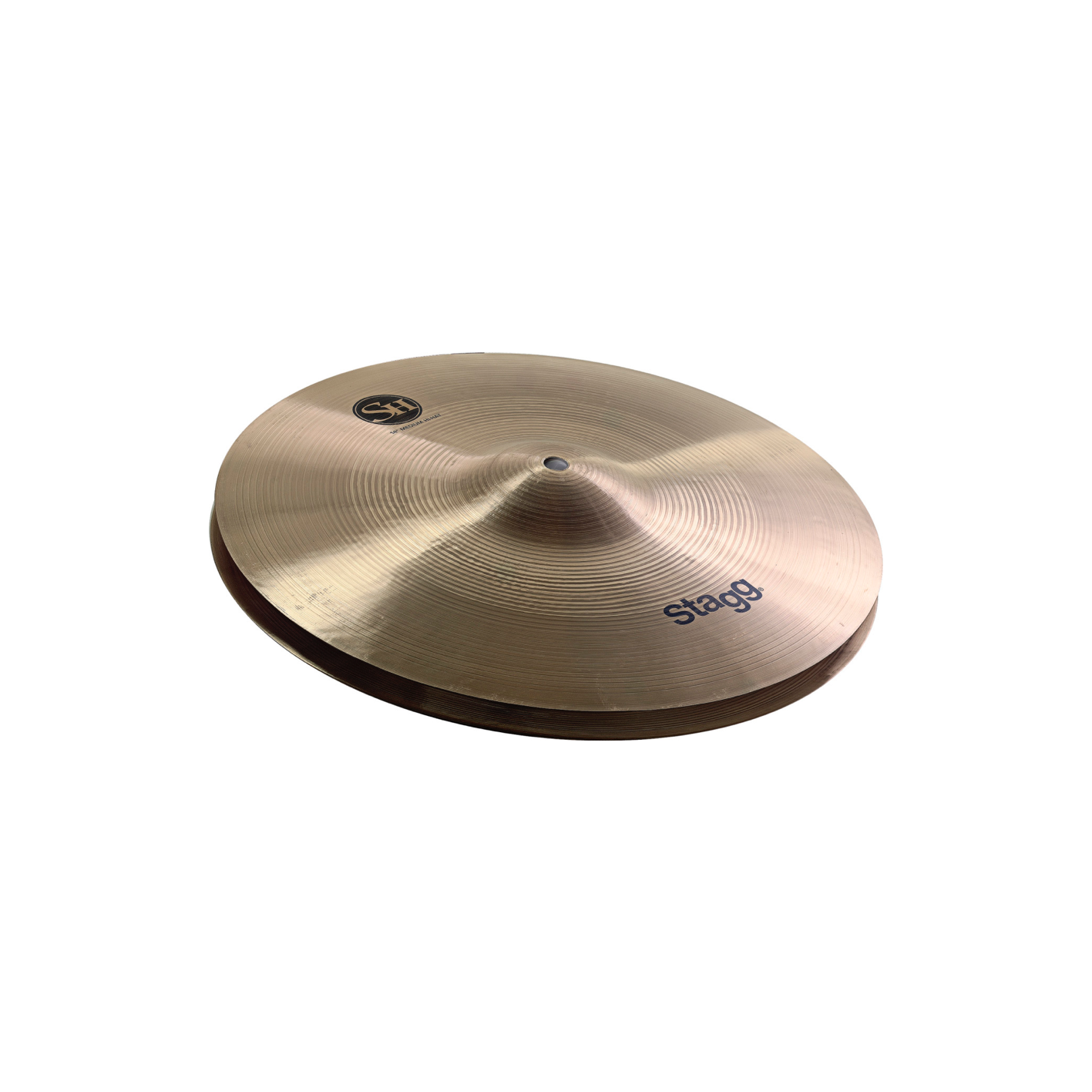 "Stagg SH-HM10R 10"" medium hi-hat cymbals (pair)"