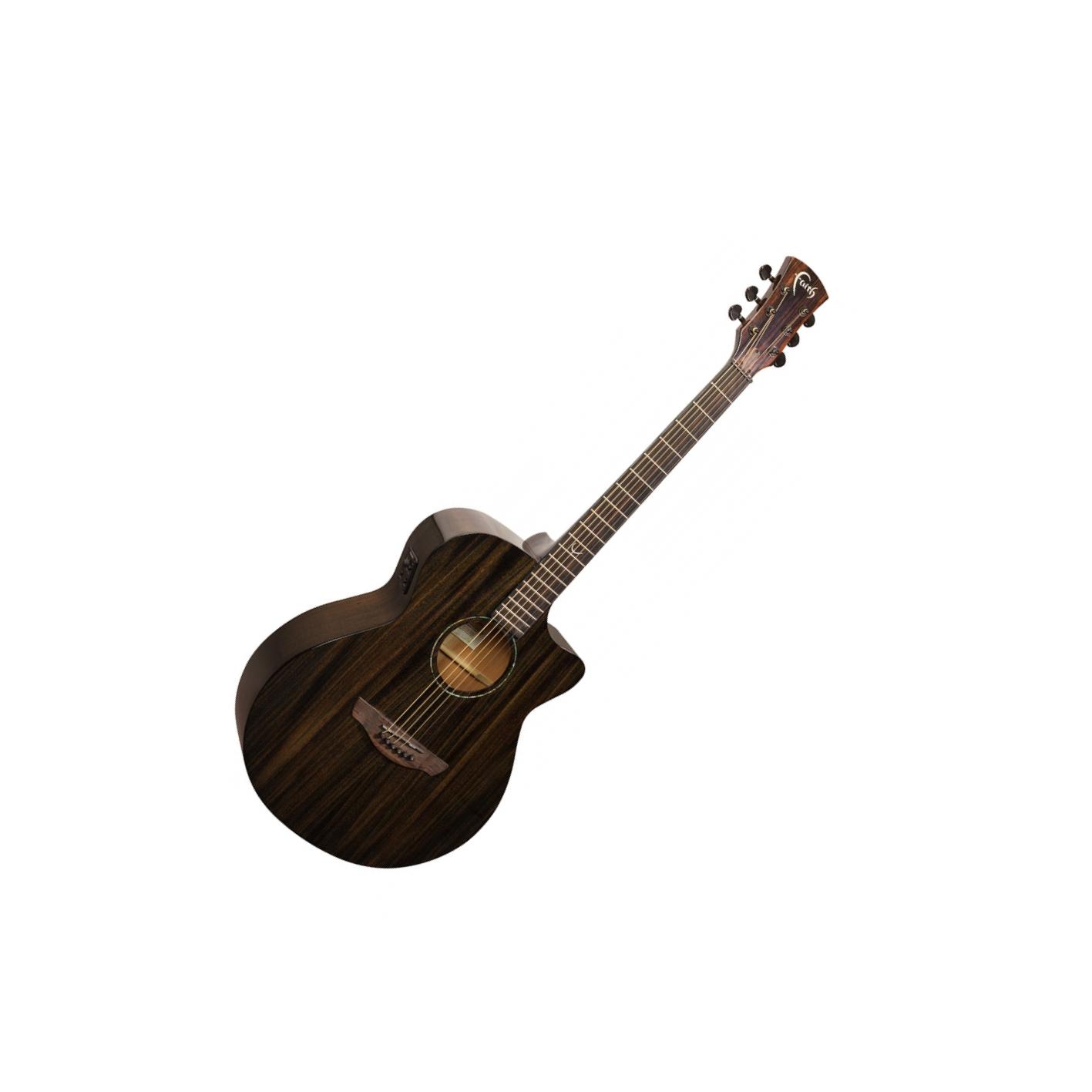 Faith Nexus Venus Electro Acoustic Copper Black (FPVCK) w/ Gig Bag