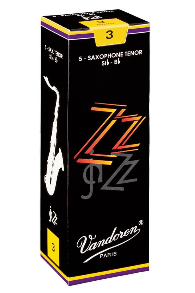 Vandoren ZZ Jazz Tenor Sax Reeds